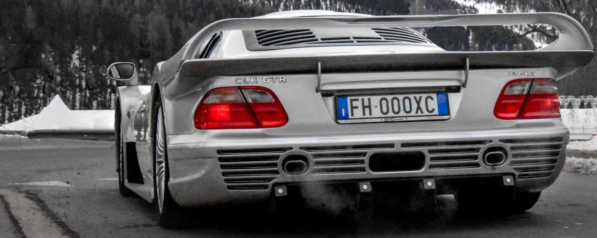Mercedes CLK-GTR, l'esemplare di Eugenio Amos