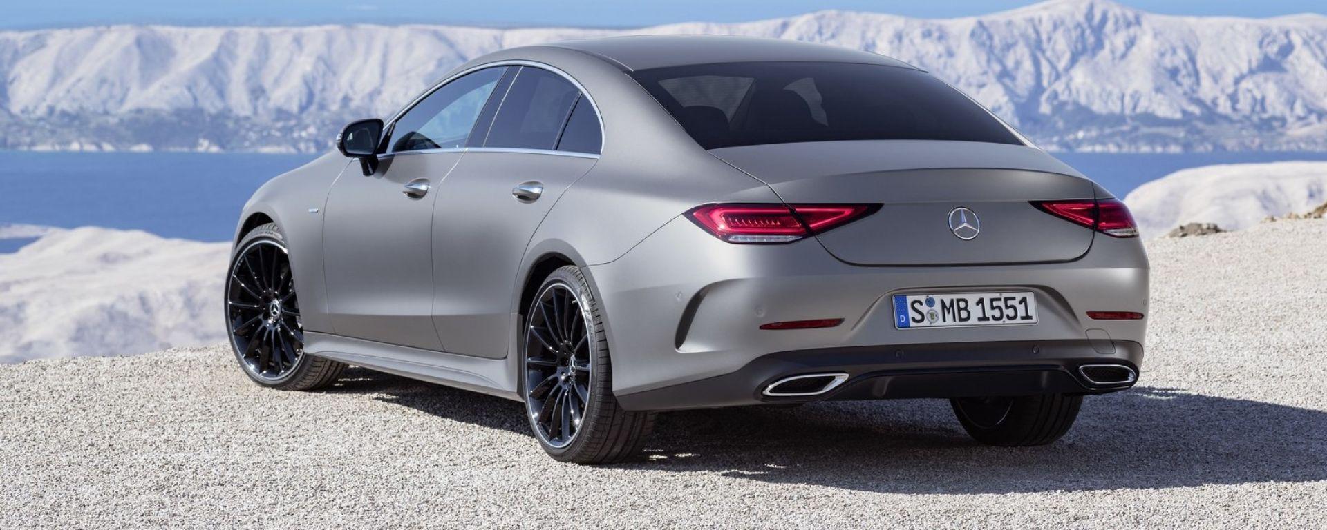 Mercedes CLS 2018: le novità della terza generazione