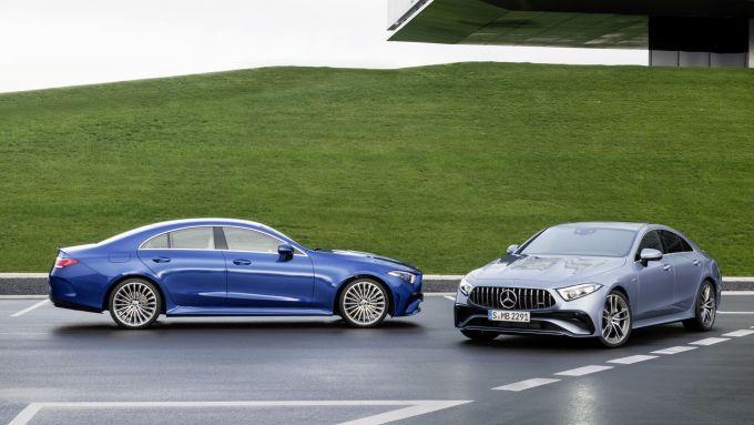 Mercedes CLS 2021: il restyling della grande coupé a 4 porte