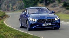 Mercedes CLS 2021: visuale di 3/4 anteriore
