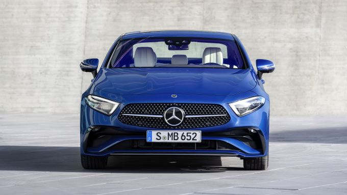 Mercedes CLS 2021: visuale frontale
