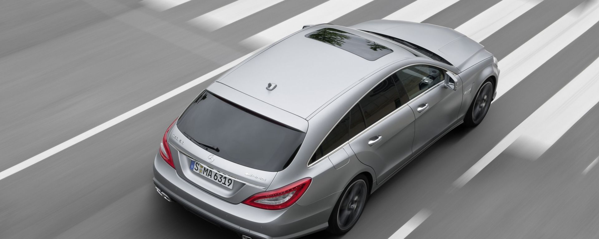 Mercedes CLS 63 AMG Shooting Brake, c'è anche un video
