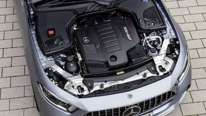 Mercedes CLS AMG 2021: il motore
