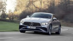 Mercedes CLS AMG 2021: visuale di 3/4 anteriore