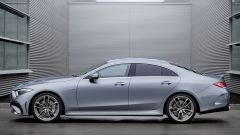 Mercedes CLS AMG 2021: visuale laterale
