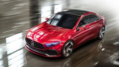 Mercedes Concept A Sedan: una nuova compatta per la Stella