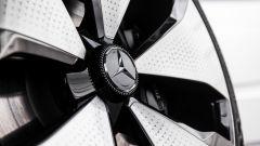 Mercedes Concept EQT: i cerchi aerodinamici
