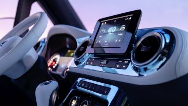 Mercedes Concept EQT: l'infotainment MBUX
