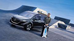 Mercedes Concept EQT presentata da Tony Hawk