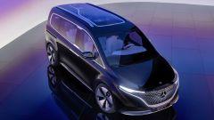 Mercedes Concept EQT: visuale di 3/4 dall'alto