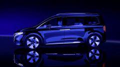 Mercedes Concept EQT: visuale