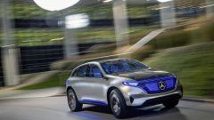 Mercedes Concept Generazione EQ: il Suv elettrico