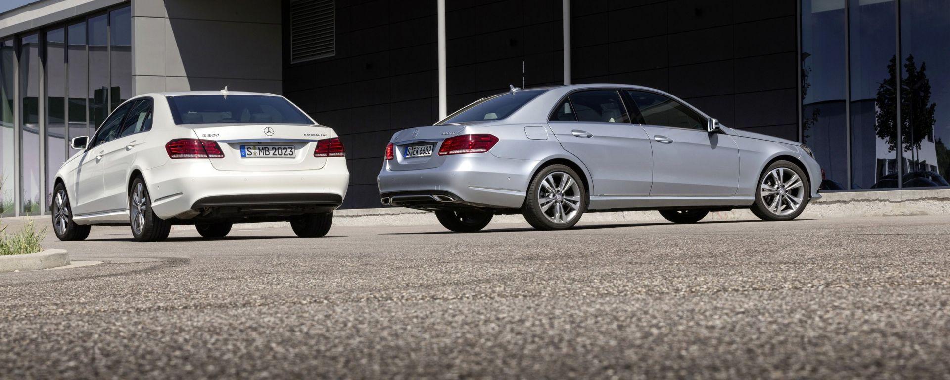 Mercedes E 200 NGD e E 200 BlueTec BlueEfficiency