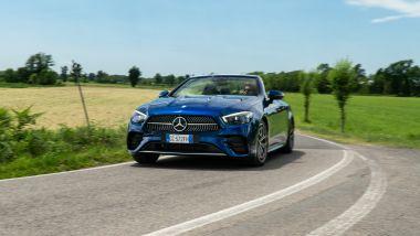 Mercedes E 220 d cabrio: con 194 Cv e 400 Nm il piacere di guida e garantito