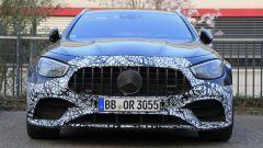 Mercedes E63 AMG 2020: il frontale mascherato