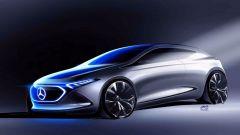 Mercedes EQ A Concept: non un SUV, ma una compatta - Immagine: 2