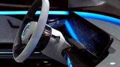 Mercedes EQ Concept, plancia