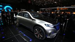 Mercedes EQ Concept, Salone di Parigi 2016