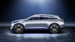 Mercedes EQ Concept, vista laterale
