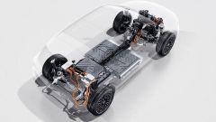Mercedes EQA 2021, il pacco batterie e la rete elettrica di bordo del SUV compatto tedesco