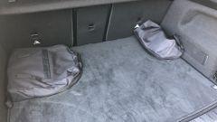 Mercedes EQA 2021, il vano bagagli non è particolarmente voluminoso