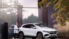 Mercedes EQA 2021 in ricarica
