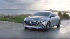 Mercedes EQA Concept, il video dell'elettrica su base nuova Classe A