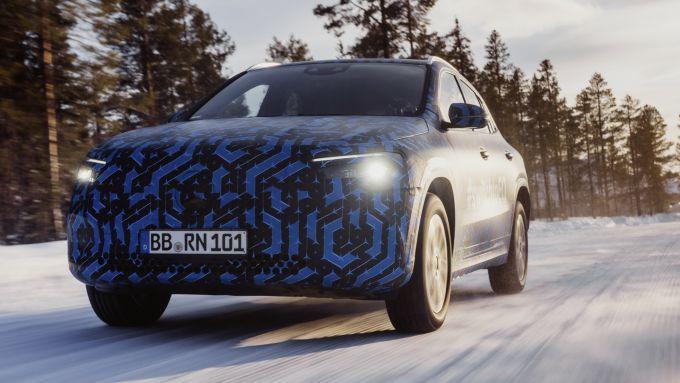 Mercedes EQA: la GLA elettrica è servita