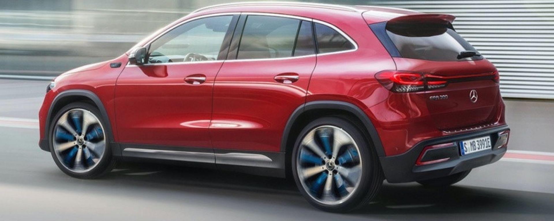 Mercedes EQA: rimandato il lancio al 2021