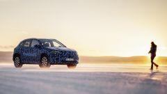 Mercedes EQA, test per la resistenza termica