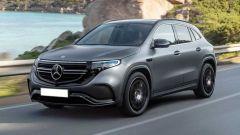 Mercedes EQA: uno dei rendering più credibili visto in rete nei mesi scorsi