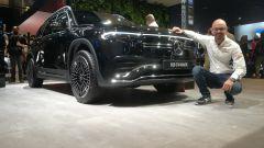 IAA 2021: nuova Mercedes EQB, dimensioni, batterie. Il video live