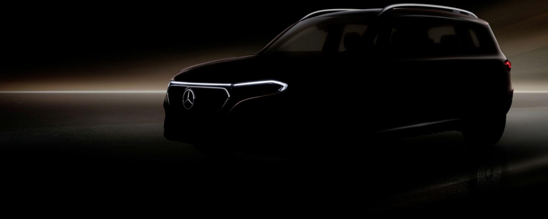 Mercedes EQB, ultimo teaser prima della world premiere