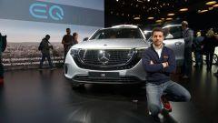 Nuova Mercedes EQC: il Suv elettrico in video da Parigi 2018 - Immagine: 3