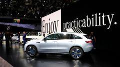 Nuova Mercedes EQC: il Suv elettrico in video da Parigi 2018 - Immagine: 28