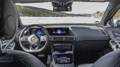 Mercedes EQC 400: gli interni