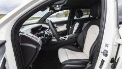Mercedes EQC 400: la seduta anteriore