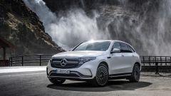 Mercedes EQC 400: statica