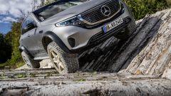 Mercedes EQC 4x4²: 15 cm più alto da terra rispetto all'EQC