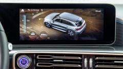 Mercedes EQC 4x4²: interni e infotainment