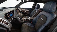 Mercedes EQC by Brabus: i sedili rivestiti in pelle/Alcantara e il tunnel centrale