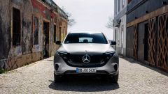 Mercedes EQC, il frontale