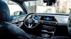 Mercedes EQC, la plancia