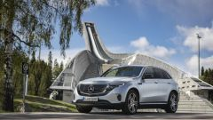 Mercedes EQC la prima foto