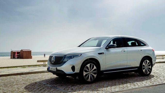 Mercedes EQC, l'insoddisfazione di Daimler