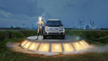 Mercedes EQG Concept: la Classe G elettrica del prossimo futuro