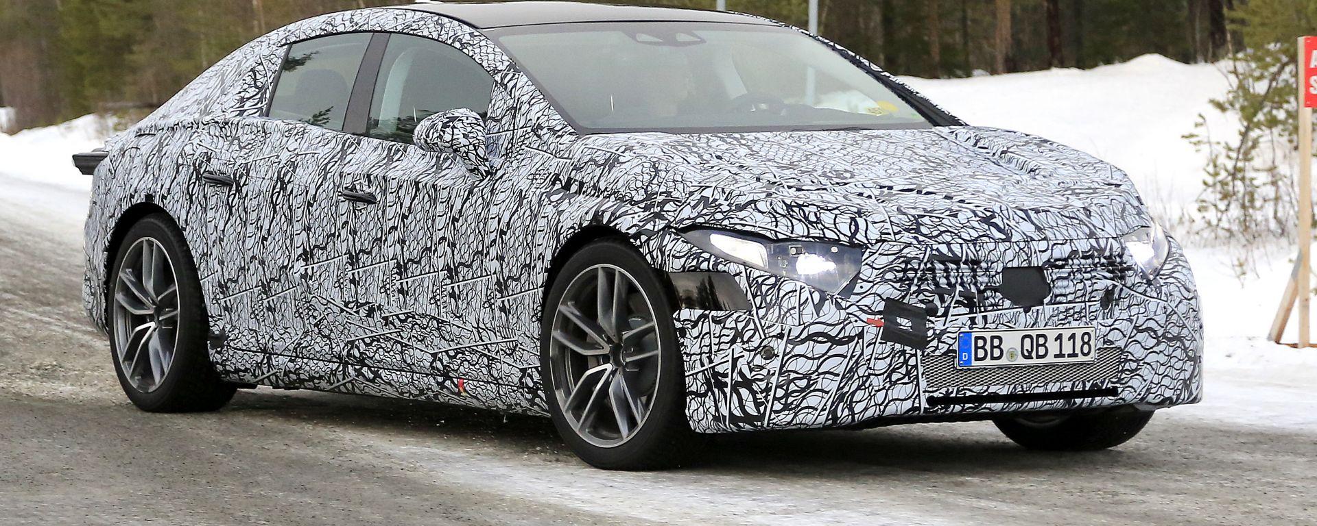 Mercedes EQS 2021: ammiraglia 100% elettrica