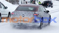 Mercedes EQS 2021: visuale posteriore