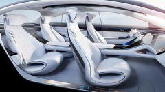 Mercedes EQS, abitacolo di lusso