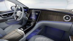 Mercedes EQS: di serie monterà una plancia molto simile alla Classe S con finiture in legno o metallo